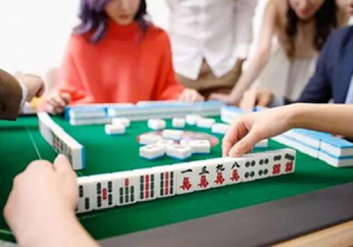斗棋焦作麻将,理清牌型是打牌的技巧之一